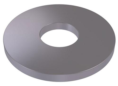 RONDELLE TITANE LARGE - DIN 9021 / ISO 7093